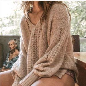 Spell & the Gypsy Knit V-Neck Jumper Sweater